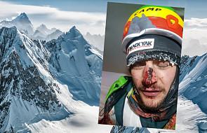 Adam Bielecki uległ wypadkowi podczas wspinaczki na K2. Himalaista opublikował w sieci zdjęcie