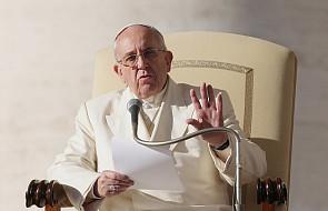 Franciszek poprosił wszystkich wierzących, by dzisiaj pościli w specjalnej intencji
