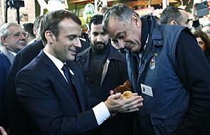 Francja: prezydent Macron wygwizdany przez rolników