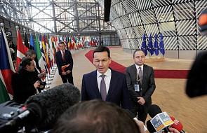 Polski rząd: kryzys w stosunkach z Izraelem nie wpływa na pozycję Polski w UE