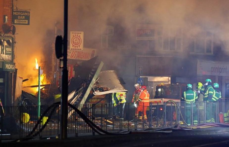 Wielka Brytania: sześć osób rannych po wybuchu w budynku z polskim sklepem