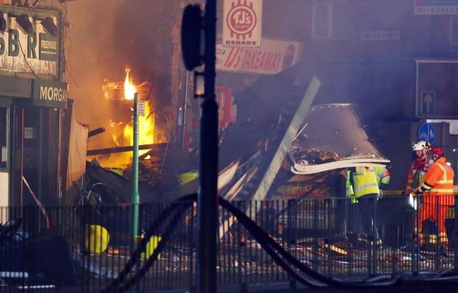 Policja w Wielkiej Brytanii: cztery ofiary śmiertelne wybuchu w Leicester