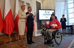 Paraolimpiada - prezydent Duda wręczył nominacje reprezentantom Polski