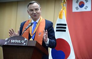 Prezydent Duda: ceremonia otwarcia igrzysk okazją do nieformalnych rozmów przywódców