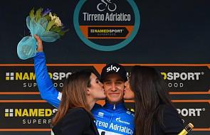 Tirreno-Adriatico - Kwiatkowski zdobył koszulkę lidera
