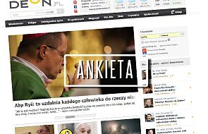 Pomóż nam zmieniać DEON.pl. Odpowiedz na kilka pytań