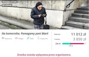 """""""Muszę spłacić komornika"""" - 83-latka rozdaje ulotki w Warszawie. Internauci pomogli jej w 3 godziny"""
