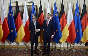 Rozpoczęło się spotkanie premiera Morawieckiego z szefem niemieckiego MSZ