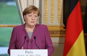 Merkel o zamachu na Skripala: wiele wskazuje na odpowiedzialność Rosji