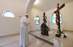 Papież podziękował organizatorom wizyty w Pietrelcinie i San Giovanni Rotondo