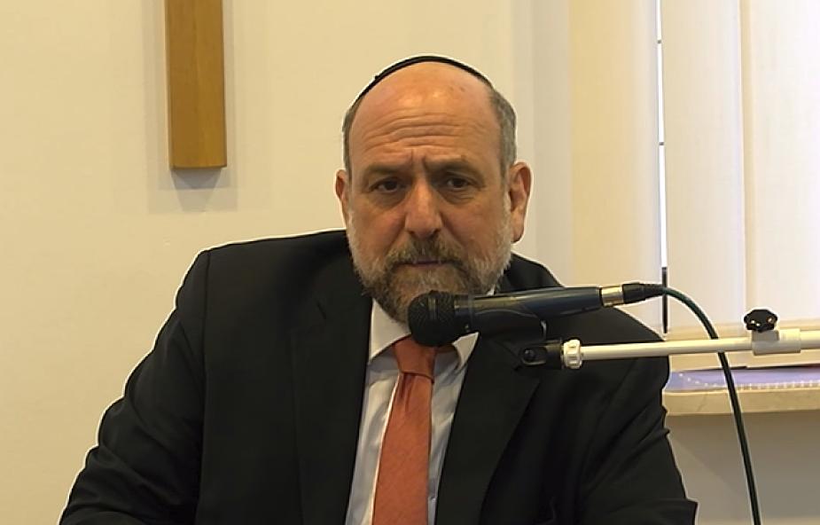 Naczelny rabin Polski: doceniamy komunikat episkopatu ws. dialogu polsko-żydowskiego