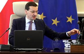 Premier Mateusz Morawiecki od czwartku na unijnym szczycie w Brukseli