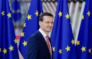 Premier Morawiecki: w obliczu niepewności potrzebujemy mocniejszej, bardziej solidarnej Europy