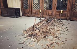 Tak powstawał krzyż, na którym umarł Jezus. Niezwykłe rekolekcje w dominikańskiej bazylice