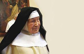 Kraków: siostra Cecylia Roszak z zakonu dominikanek skończyła 110 lat
