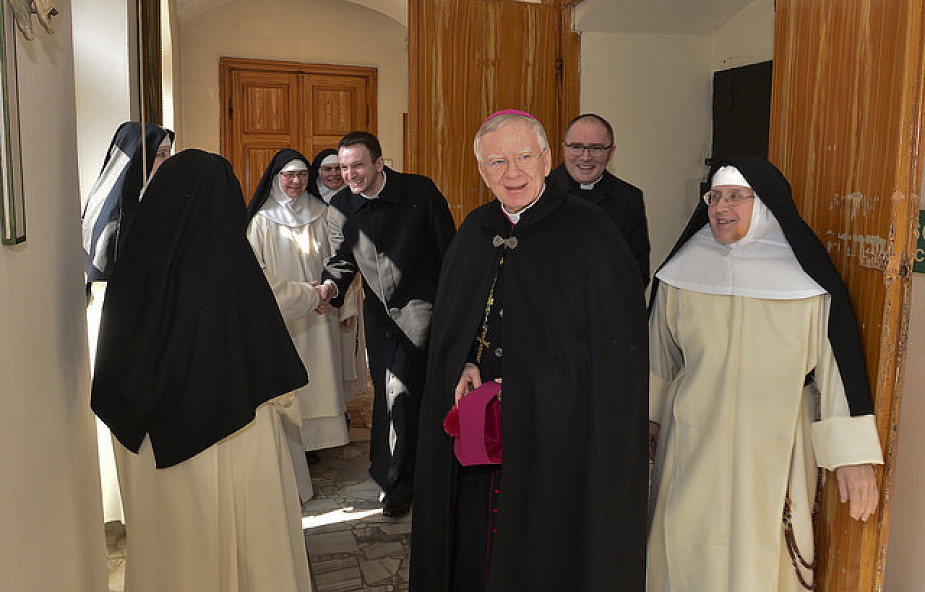 Abp Marek Jędraszewski odwiedził najstarszą na świecie zakonnicę