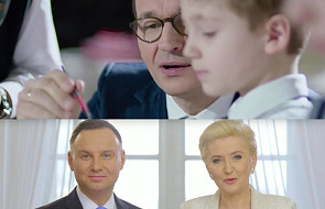 Para prezydencka oraz premier Mateusz Morawiecki składają życzenia świąteczne dla Polaków [WIDEO]