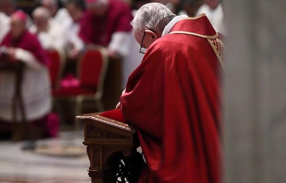 Franciszek w dzisiejszym dniu zachowywał głębokie milczenie