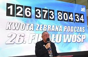 126 mln 373 tys. 804 zł 34 gr zebrano podczas 26. Finału WOŚP