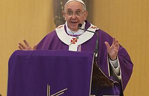Papież Franciszek: dajmy się oczyścić miłości, aby rozpoznać prawdziwą miłość!