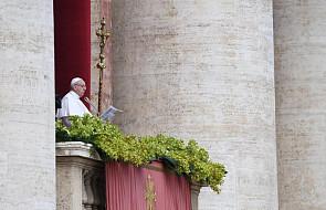 Wielkanocne orędzie Franciszka: prosimy o pokój dla całego świata (dokumentacja)