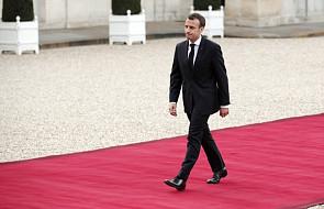 Macron: mamy dowody na użycie broni chemicznej przez Asada