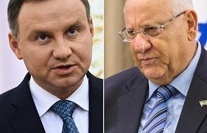 Rozpoczęło się spotkanie prezydentów Polski i Izraela w Oświęcimiu. Pierwsze od ustawy dot. IPN