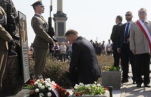Prezydent Andrzej Duda oddał w Warszawie hołd ofiarom zbrodni katyńskiej