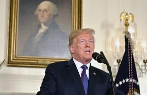 """USA: Trump broni słów o """"misji wypełnionej"""" po ataku w Syrii"""