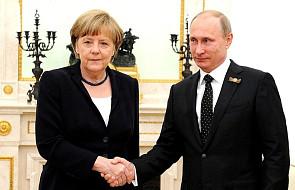 Rosja: Putin rozmawiał z Merkel o Syrii i Nord Stream 2