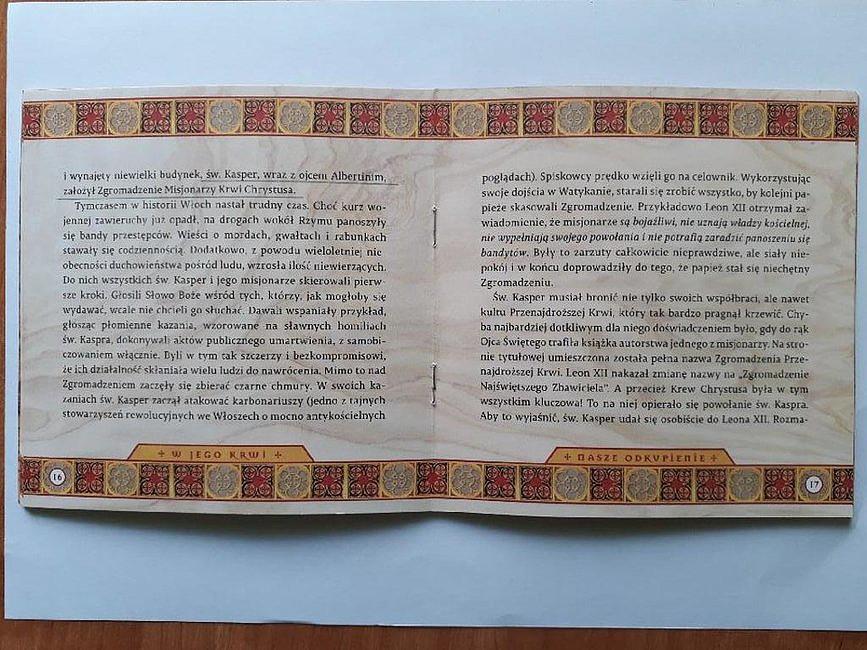 Władze zakonów ostrzegają przed broszurką.
