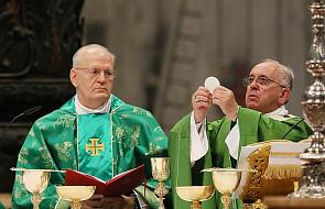 Watykan: media twierdzą, że papież podjął decyzję w sprawie Komunii dla protestantów