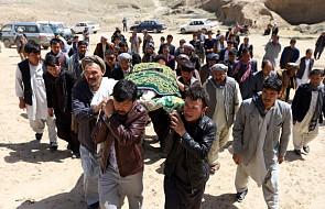 Afganistan: 14 policjantów i żołnierzy zginęło w atakach talibów