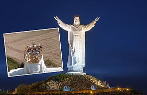 Świebodzin: tajemnicze urządzenia na głowie figury Jezusa. Kuria skomentowała doniesienia mediów