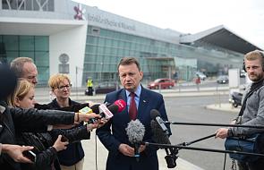 Szef MON Mariusz Błaszczak: jesteśmy gotowi przyjąć więcej żołnierzy USA