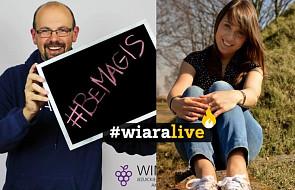 #wiaraLIVE: jak ruszyć z miejsca? Zapraszają Paweł Kowalski SJ i Magdalena Westa