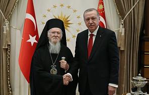 Turcja: prezydent Erdoğan przyjął patriarchę Bartłomieja