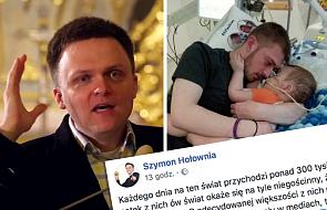 Szymon Hołownia: wstydzę się wobec tego chłopca za cywilizację, której jestem częścią