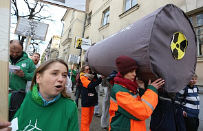 Demonstracja w rocznicę awarii w Czarnobylu i przeciwko nowej elektrowni