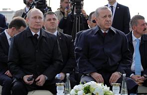 Prezydenci Erdogan i Putin zainaugurowali budowę elektrowni atomowej