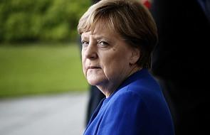 Merkel chce zachować umowę z Iranem, apeluje do Teheranu o deeskalację