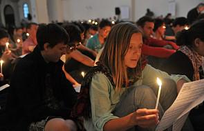 Modlitwa Taizé o jedność Chrześcijan w krakowskim Duszpasterstwie Akademickim Jezuitów