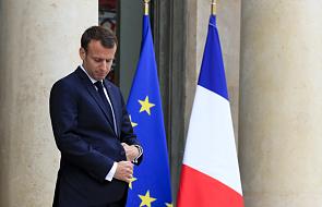 Macron apeluje do Netanjahu o zagwarantowanie Palestyńczykom prawa do protestu