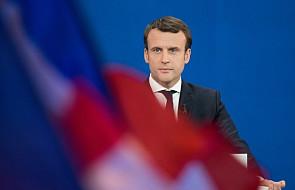 """Macron potępił """"przemoc izraelskiej armii"""" w Strefie Gazy"""