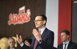 Premier Morawiecki pogratulował abp. Krajewskiemu nominacji kardynalskiej