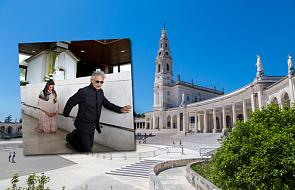 Fatima: światowej sławy piosenkarz na klęczkach przed Maryją. Dlaczego pojawił się w sanktuarium?