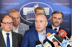 Schetyna apeluje do premiera, by pochylił się nad postulatami protestujących w Sejmie