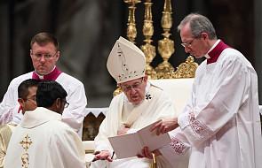 Papież o przyjmowaniu mężczyzn ze skłonnościami homoseksualnymi do seminarium