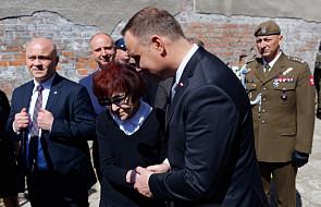 Prezydent złożył wieniec przy ścianie straceń w 70. rocznicę śmierci rtm. Pileckiego