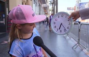 Dzieciom pokazano analogowy zegar i zapytano o to, która jest godzina. Co odpowiedziały?